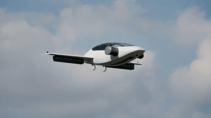 Lilium Jet, an Electric Double-Seat Aircraft for Daily Use