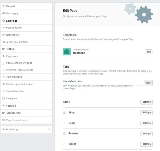 How to Edit a Facebook Business Page