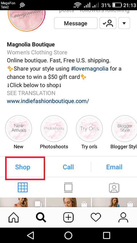 So what is the Instagram shop and how it works